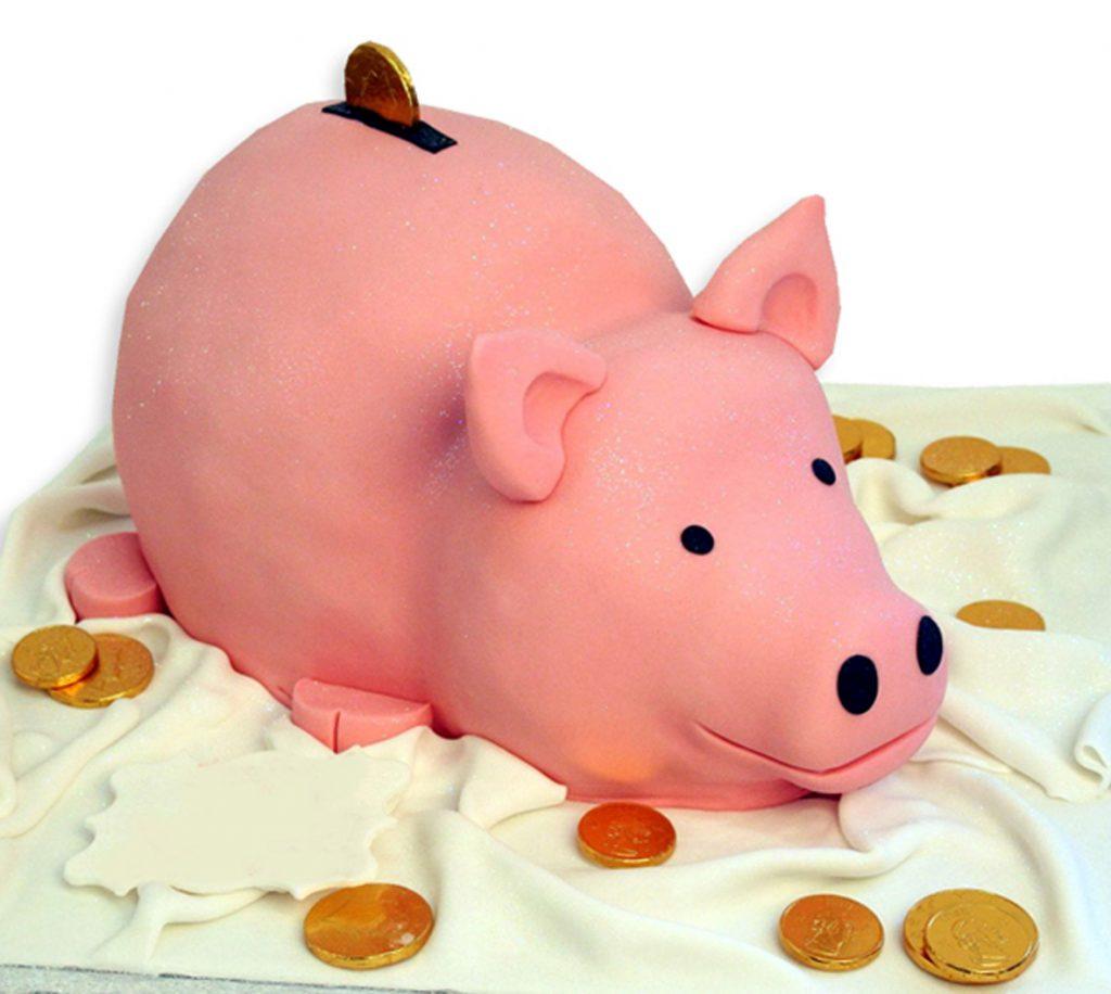 Wedding Cake Piggy Bank