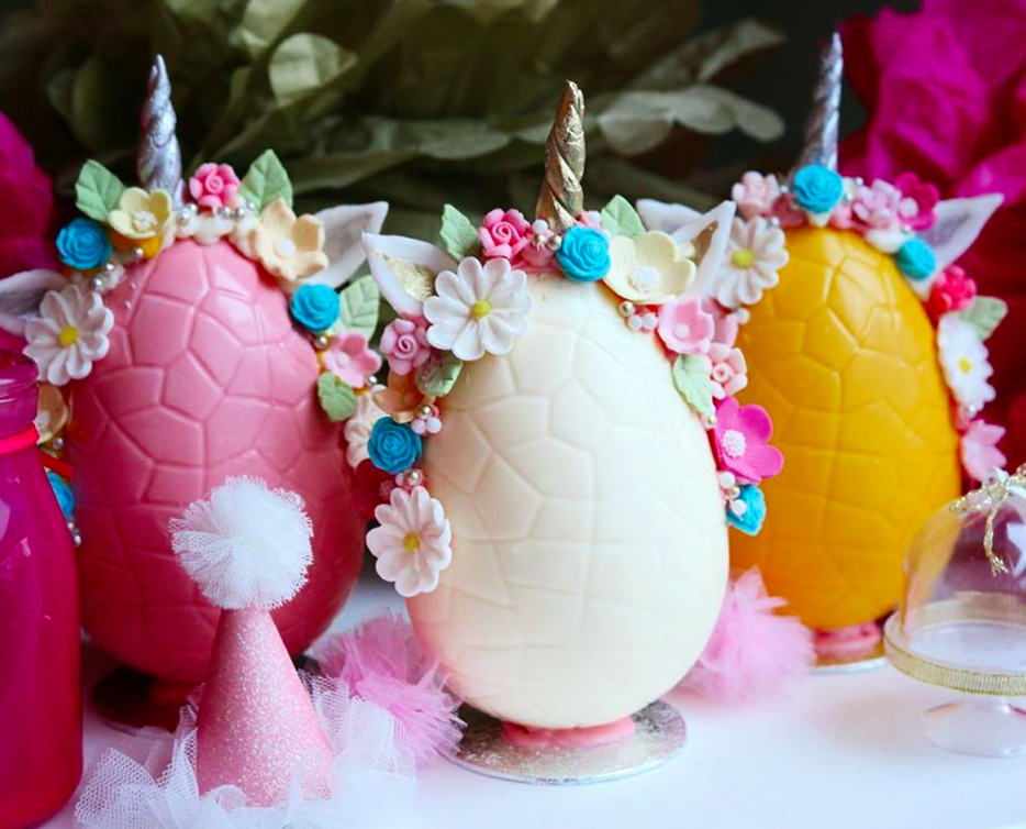 Bakers and Cakers , Unicorn Easter egg