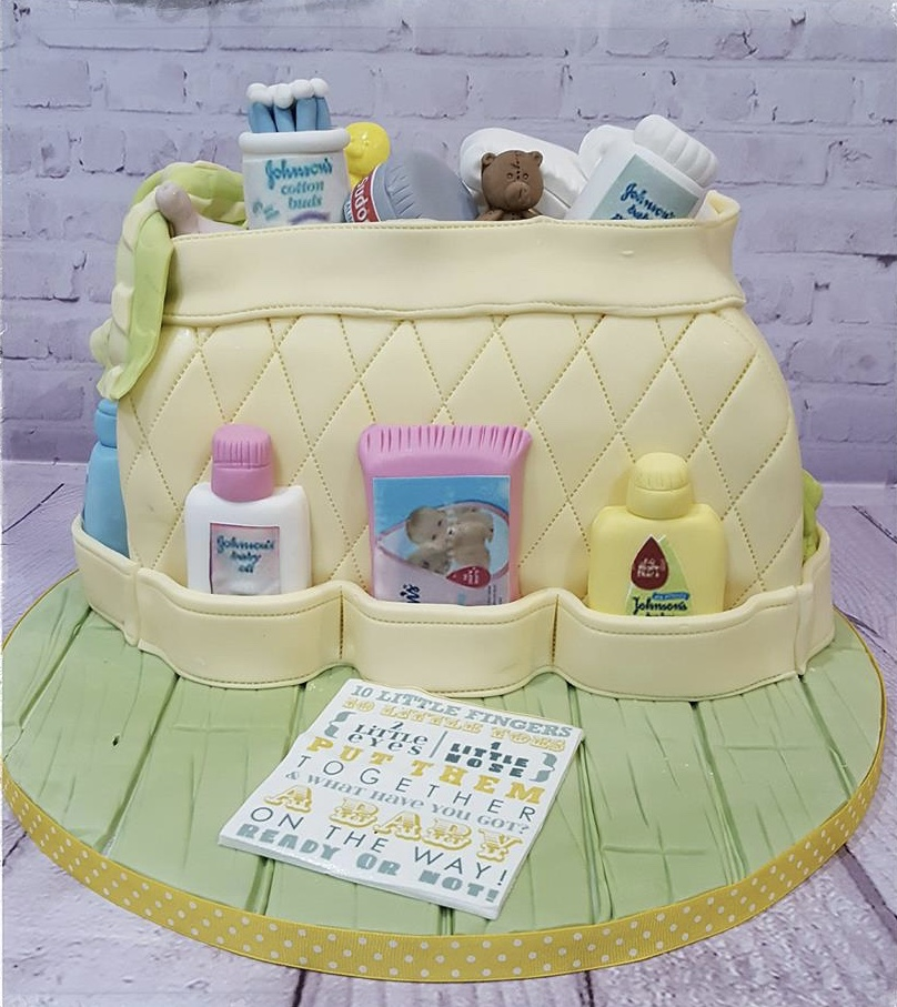 baby shower cake - Baker boy cakes