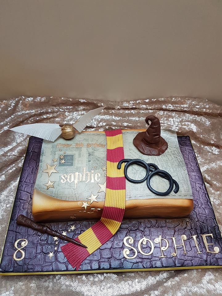 Harry Potter Cake -Cherub couture Cakes
