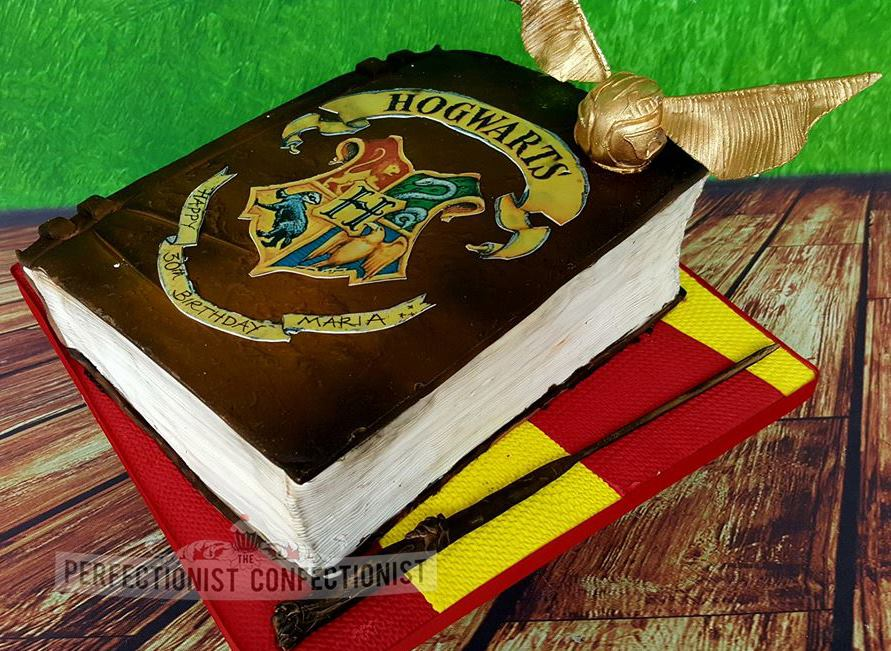 Harry Potter Cake -Perfectionist Confectionist