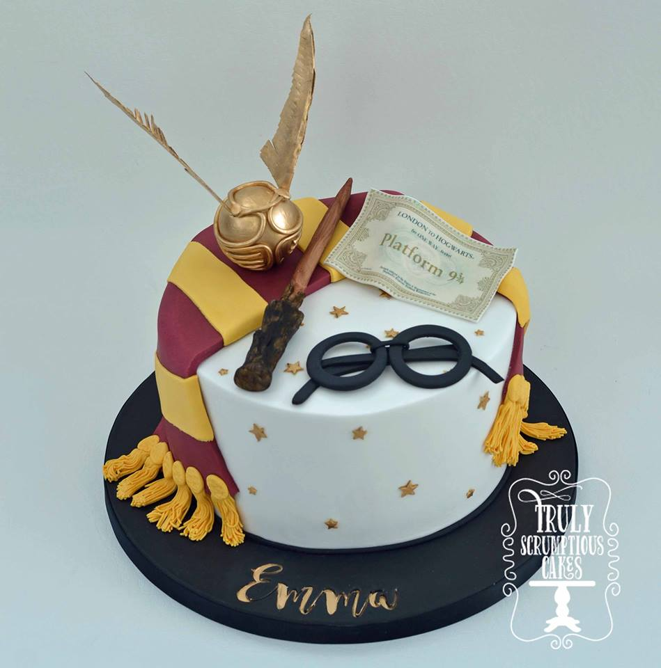 10 Harry Potter Cake Designs For Muggles And Wizards Alike