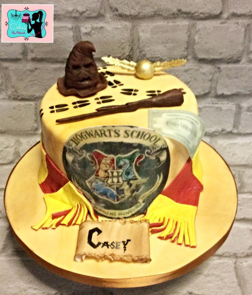 Harry Potter cake - cakes by Deborah 2