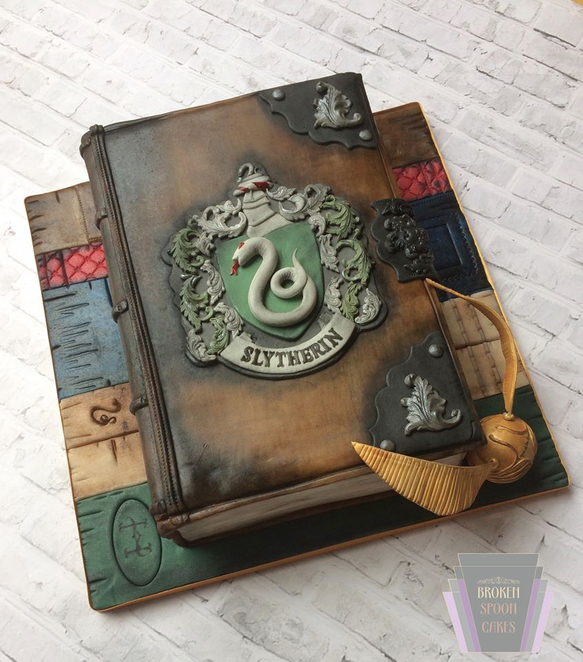 Harry Potter cake - Broken spoon cakes