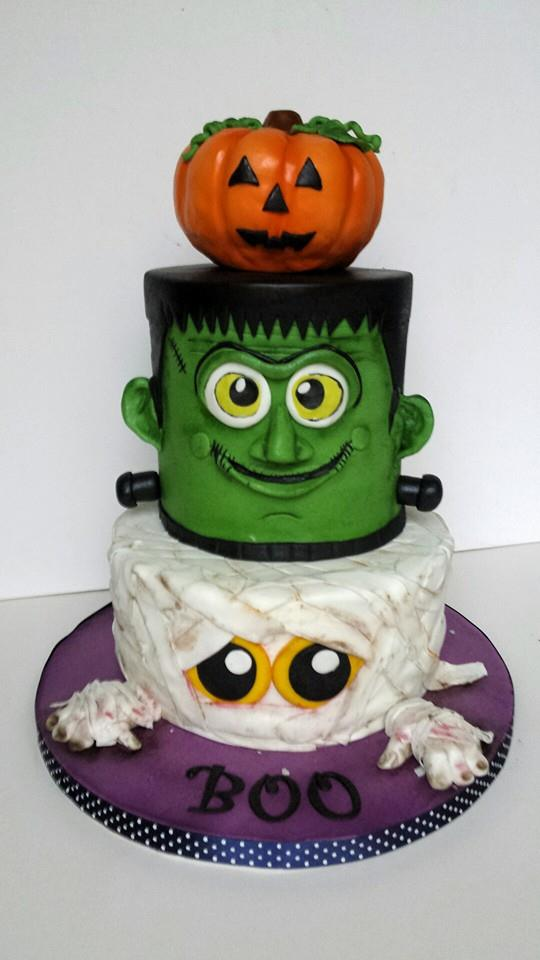 halloween cake lily belles cakes