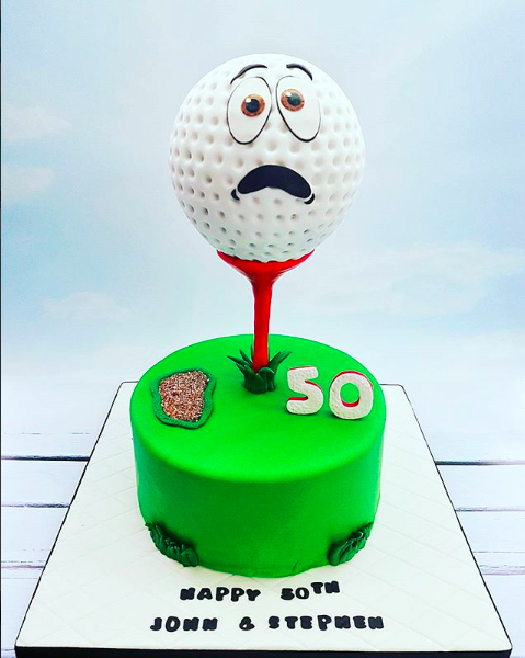 Enjoyable Cakes For Your Favourite Sport Enthusiast Personalised Birthday Cards Arneslily Jamesorg