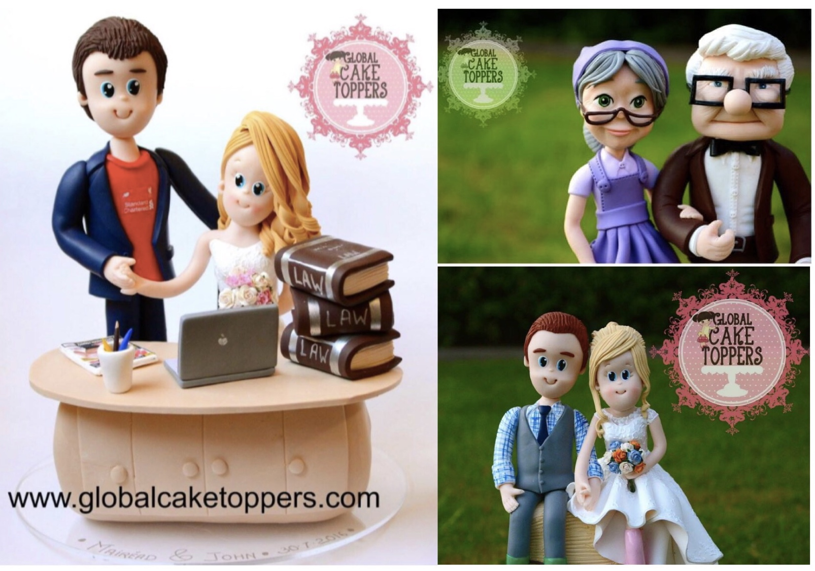Wedding Cake toppers for keeps