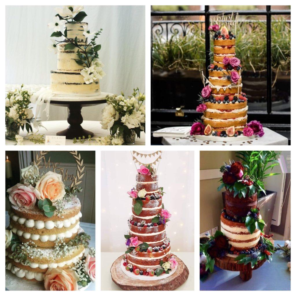 Naked Wedding Cakes