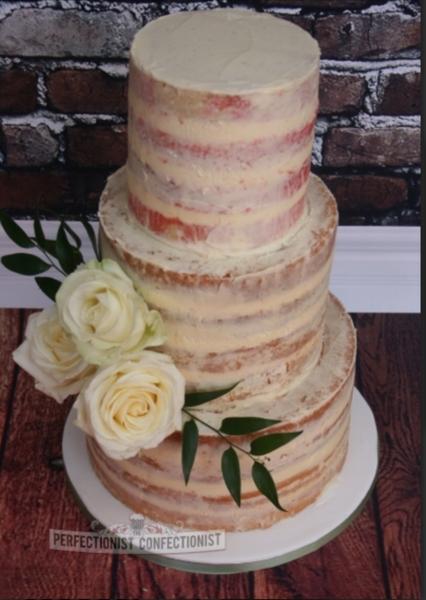 Creative Naked Wedding Cake Design