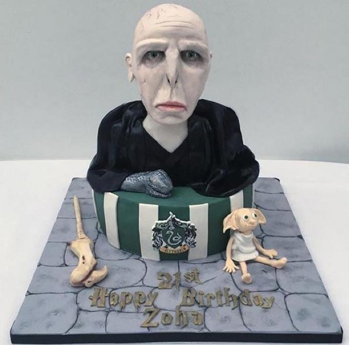 Voldemort 21st Birthday Cake