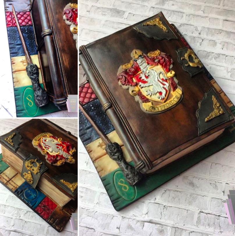 Harry Potter Inspired Novelty Cake