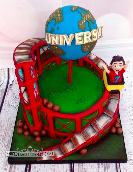 Universal Themed Novelty Birthday Cake