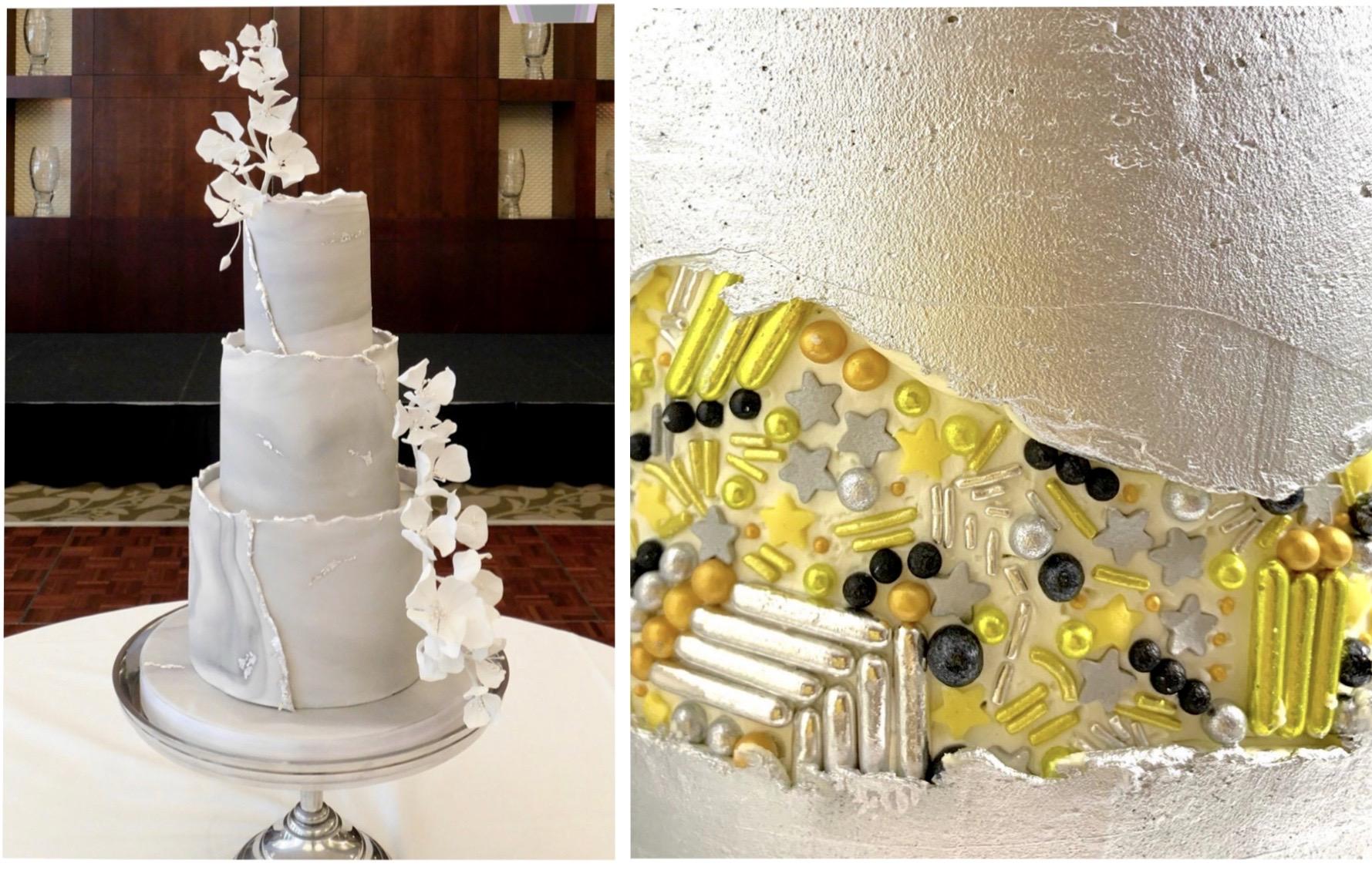 Fault Line Wedding Cake Trend