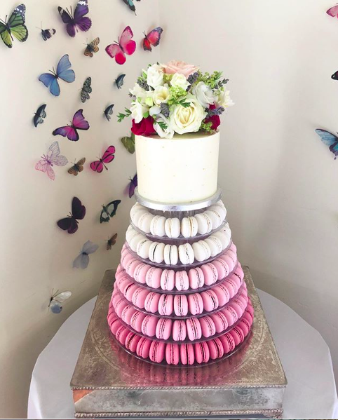 Alternative Wedding Cakes - Macaroon