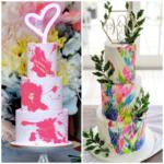Neon Wedding cake trend 2020
