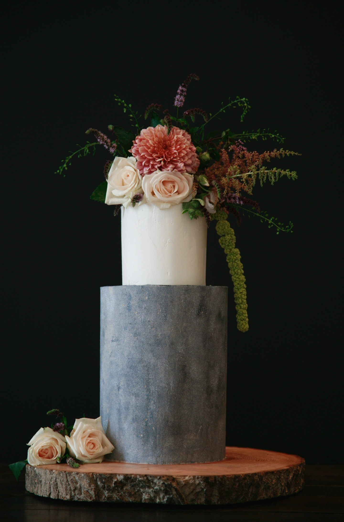 Concrete Wedding Cake Trend